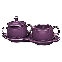 Fiesta® Sugar and Creamer Set with Tray in Mulberry