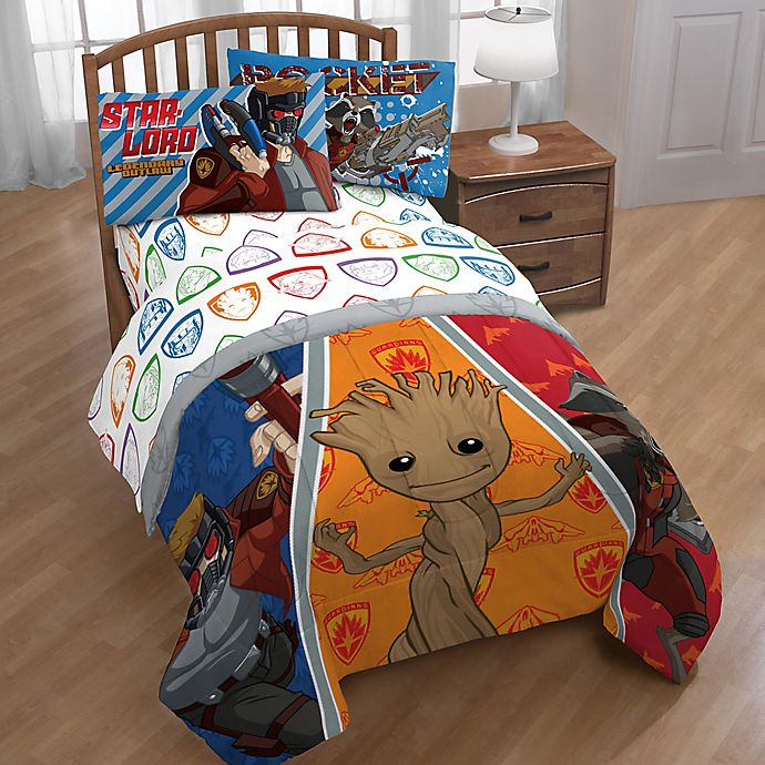 Alternate image 1 for Marvel® Guardians of the Galaxy Comforter Set