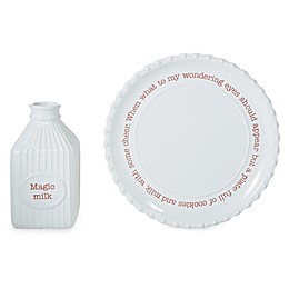 Mud Pie® Circa Christmas 2-Piece Cookie Plate Set