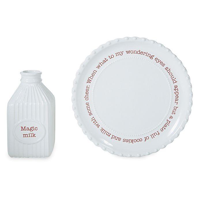 Alternate image 1 for Mud Pie® Circa Christmas 2-Piece Cookie Plate Set