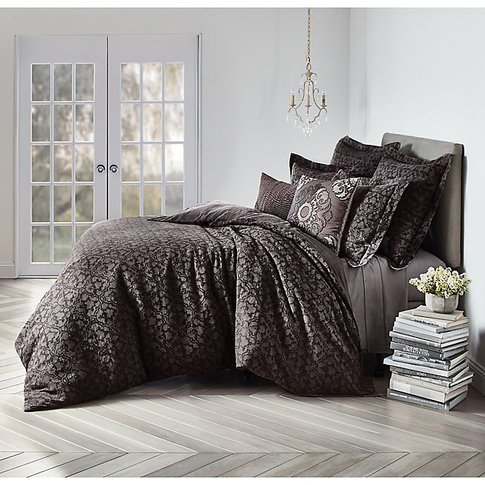 Alternate image 1 for Wamsutta® Vintage Textured Jacquard Duvet Cover