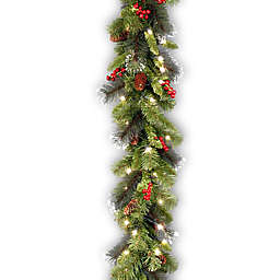 Winter Wonderland 6-Foot Pre-Lit Crestwood Spruce Garland