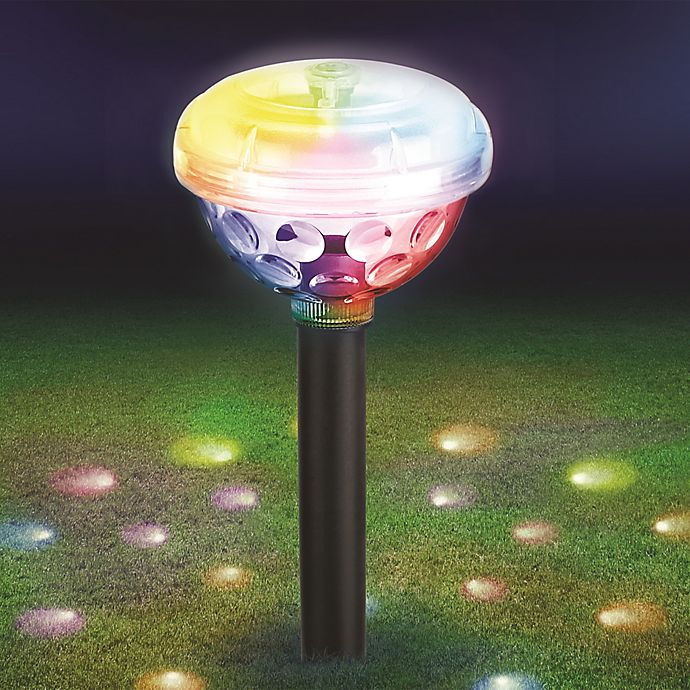 Alternate image 1 for Sharper Image® Solar-Powered Party Light