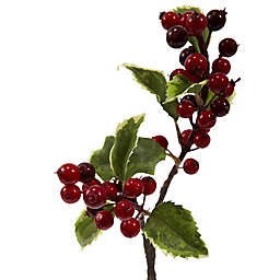 Nearly Natural 16-Inch Artifical Holly Berry Flowers