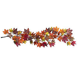 Nearly Natural 60-Inch Artificial Maple Leaf Garland