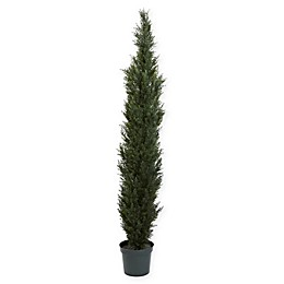 Nearly Natural 7-Foot Cedar Pine Tree
