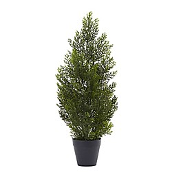 Nearly Natural 2-Foot Mini Cedar Pine Tree