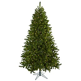 Nearly Natural 7.5-Foot Windermere Pre-Lit Christmas Tree