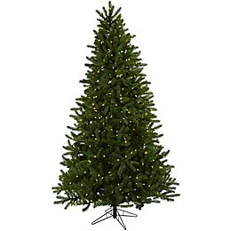 Nearly Natural 7.5-Foot Rembrandt Pre-Lit Christmas Tree