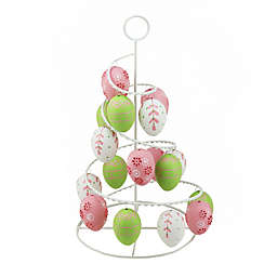 Northlight 14.25-Inch Pastel Easter Egg Tree