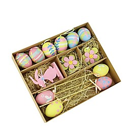 Northlight Multicolor Easter Decorations (Set of 13)