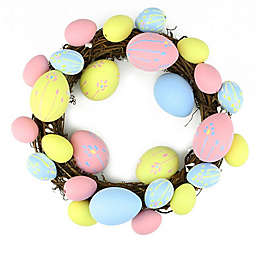 Northlight 10-Inch Easter Egg Wreath