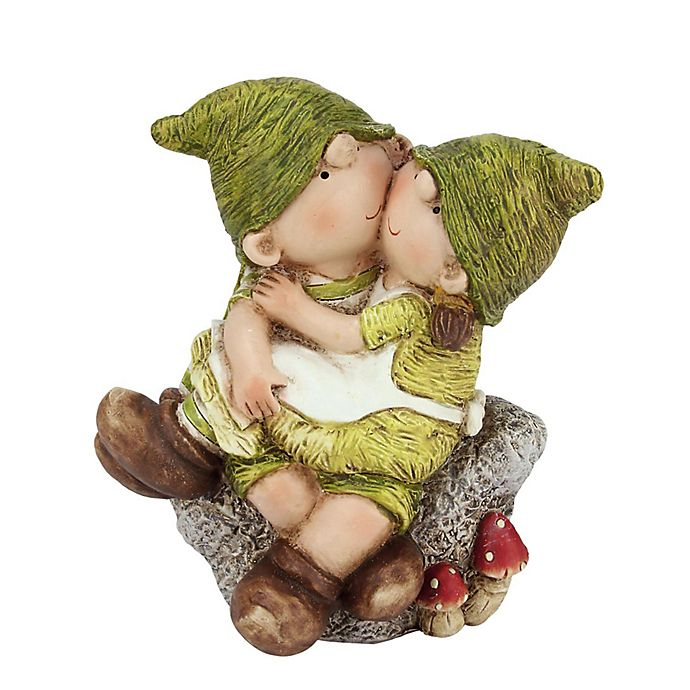 Alternate image 1 for Northlight Boy and Girl on Stone Figure
