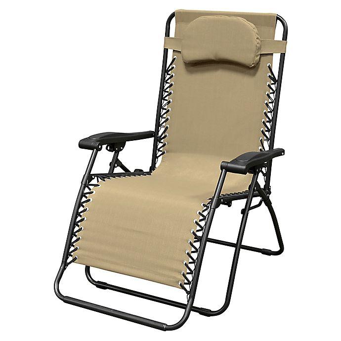Alternate image 1 for Caravan® Sports Oversize Zero Gravity Chair