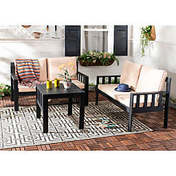 Safavieh Lardner 3-Piece Living Set
