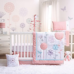 The Peanutshell™ Wildflower Crib Bedding Collection
