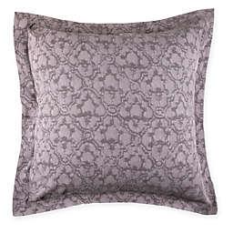 Wamsutta® Vintage Textured Jacquard European Pillow Sham in Eggplant