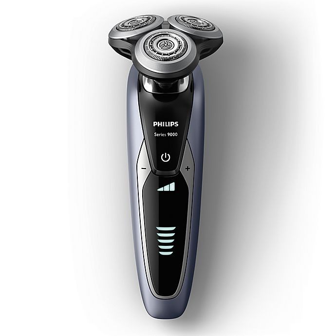 Alternate image 1 for Philips Shaver 9000 Wet and Dry Electric Shaver in Glacier Blue