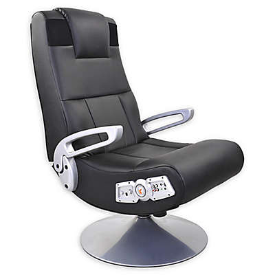 X Rocker Pedestal 2.1 Wireless Sound Gaming Chair in Black