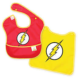 Bumkins® SuperBib®! DC Comics™ The Flash Multicolor Bib with Cape