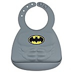 Bumkins® DC Comics™ Batman Muscles Multicolor Silicone Bib