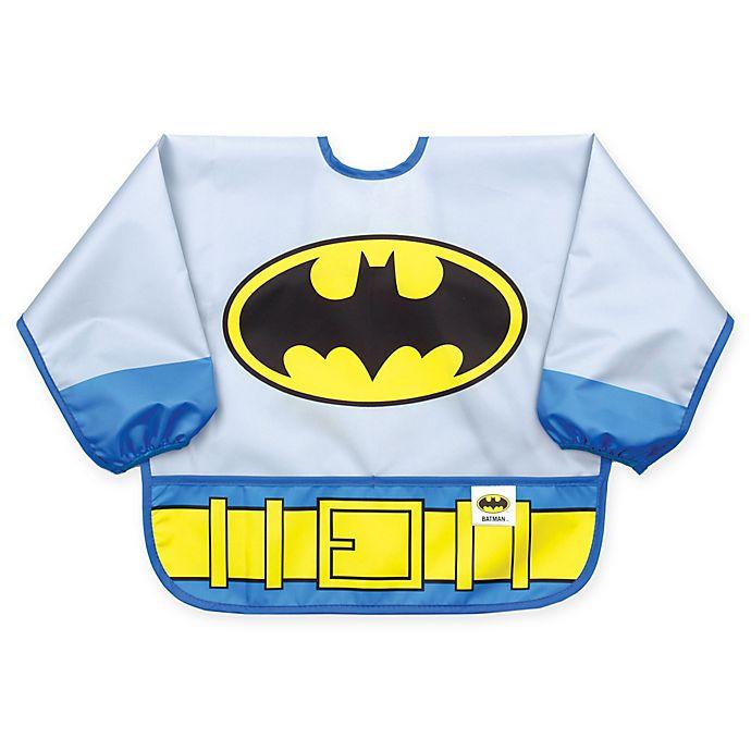 Alternate image 1 for Bumkins® DC Comics™ Batman Multicolor Sleeve Bib