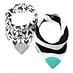 2-Pack Banda Bib Teether™ in Black/White