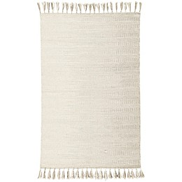 Jaipur Living Flats Labyrinth 9' x 12' Area Rug in Ivory