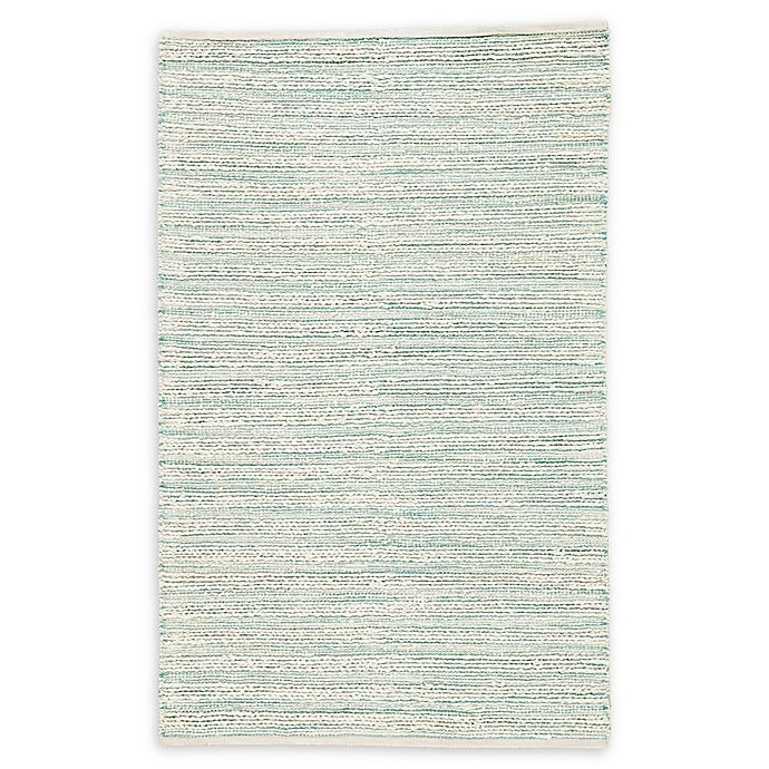 Alternate image 1 for Jaipur Living Canterbury 9' x 12' Area Rug in White/Turquoise