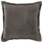 Bridge Street Reese Velvet Square Throw Pillow in Mink