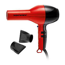 Solano Supersolano 1875W Tourmaline Ceramic Hair Dryer in Red/Black