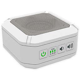 Big Red Rooster® Portable Sound Machine in White
