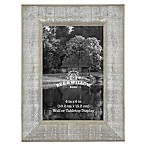 4-Inch x 6-Inch Rustic Wooden Picture Frame in Austin Grey