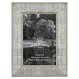Bee & Willow™ Home 4-Inch x 6-Inch Wooden Picture Frame in Austin Grey