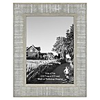 Rustic Impressions 5-Inch x 7-Inch Wooden Picture Frame in Austin Grey