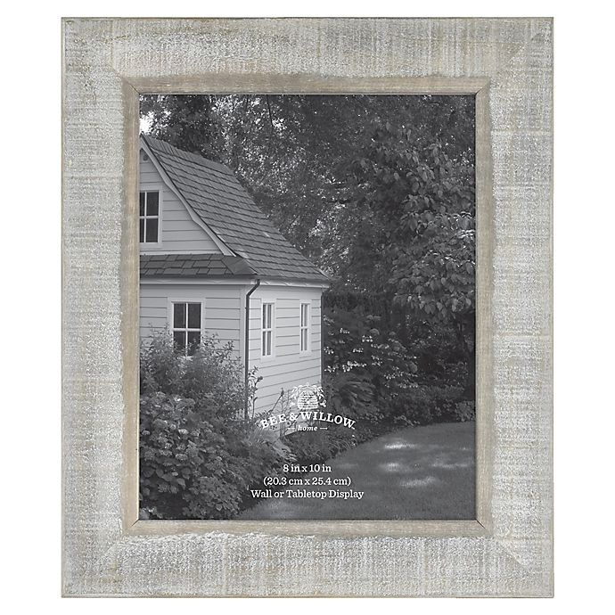 Alternate image 1 for Bee & Willow™ Home 8-Inch x 10-Inch Wooden Picture Frame in Austin Grey