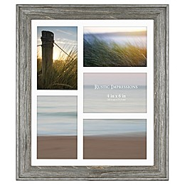 Bee & Willow™ Home 5-Picture Matted Wooden Collage Frame