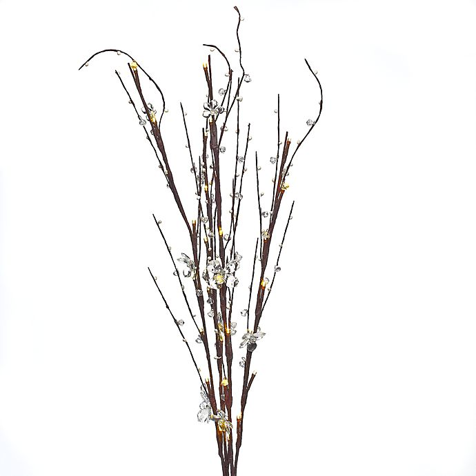 Lighting Warehouse Branches: Lighted Clear Acrylic Branches With 30 Lights