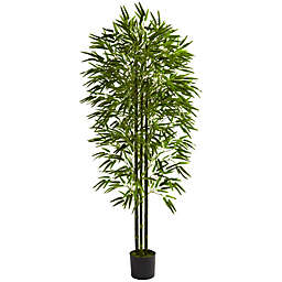 Nearly Natural 72-Inch UV Resistant Artificial Bamboo Tree