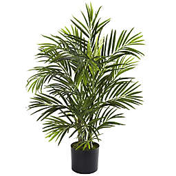 Nearly Natural 30-Inch Areca UV Resistant Artificial Palm Tree