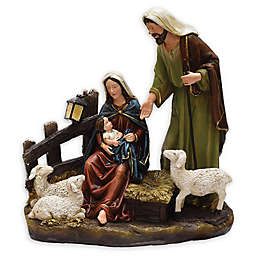 Northlight Nativity Scene Figurine in Fig Brown