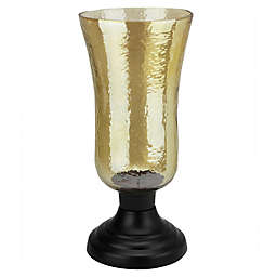 Northlight Golden Luster Candle Holder with Black Base