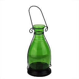 Northlight 1-Votive Transparent Vase Lantern in Green