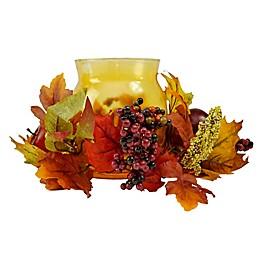 Northlight 17-Inch Autumn Harvest Apple & Berry Holder