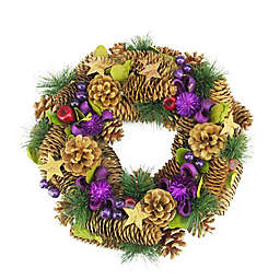 13-Inch Artificial Decorative Christmas Wreath