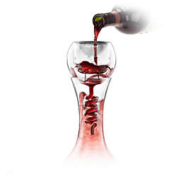 Final Touch® Glass Twister Aerator for Decanters