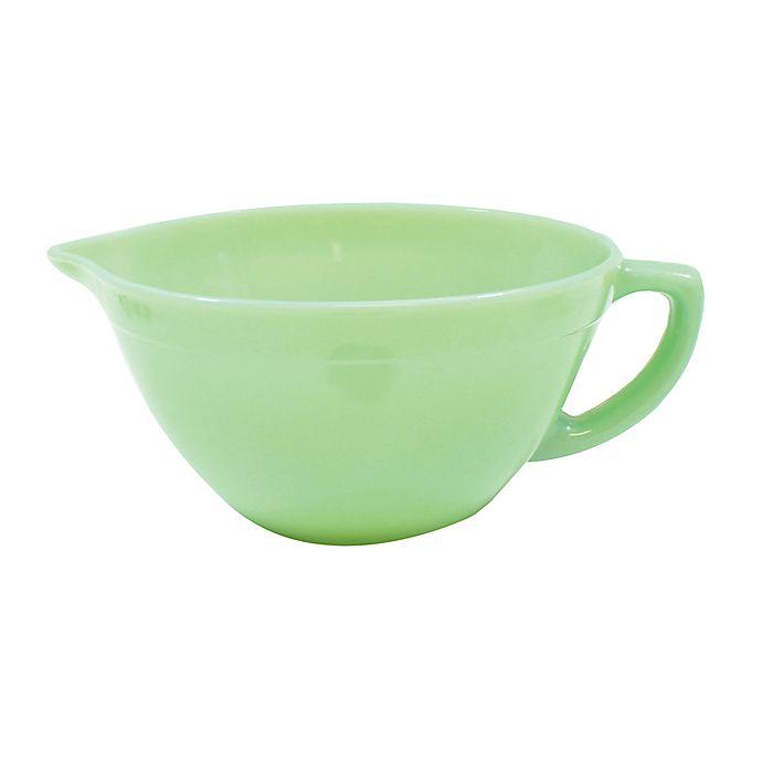 Alternate image 1 for TableCraft® Jadite 1.25 qt. Batter Bowl in Green