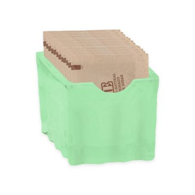 Tablecraft Jadeite Glass Sugar Packet Holder In Green