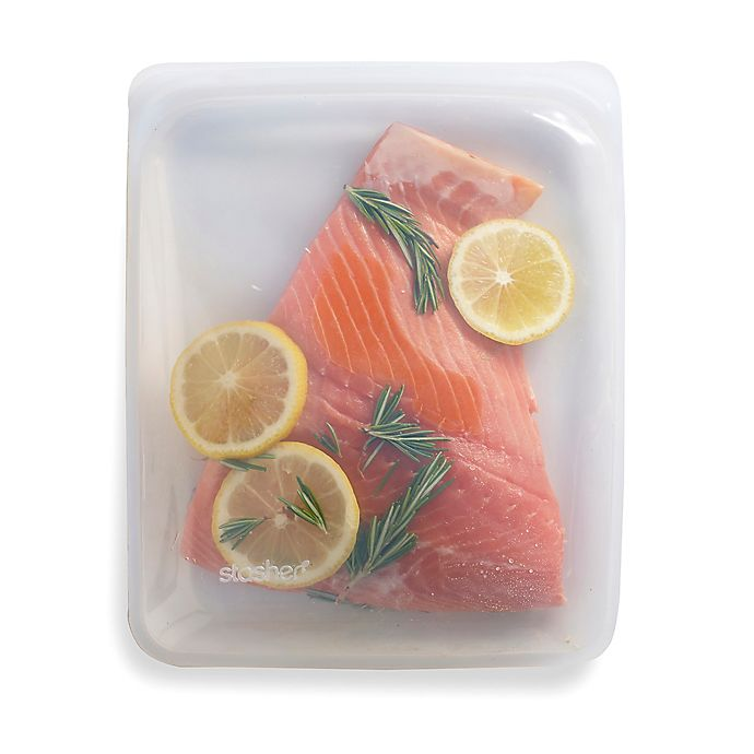 Alternate image 1 for Stasher Half-Gallon Silicone Reusable Food Storage Bag