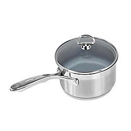 Chantal® Nonstick Ceramic Coated Induction 21 Steel™ 2 qt. Covered Saucepan